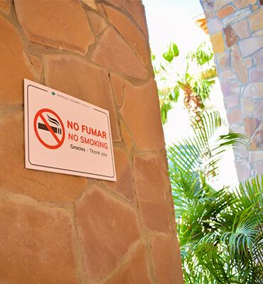 Cabo tiene Áreas libre de Humo de Cigarro