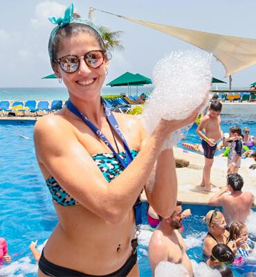 Divirtiendonos en el Hotel Solaris de Cancún