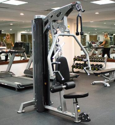 Aparatos para hacer ejercicio en los Hoteles Solaris de Cancún