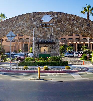 Llegando al Hotel Royal Solaris en Los Cabos