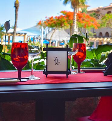 El Restaurante Zai en Royal Solaris Los Cabos