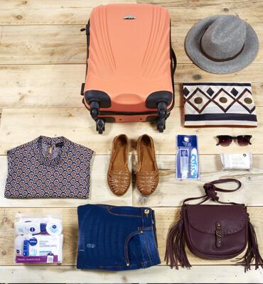 Organizando las Maletas para salir de Viaje