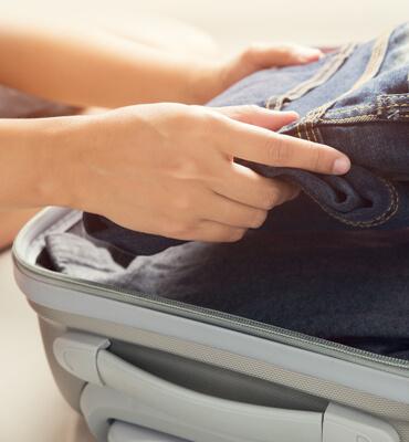 Preparando las maletas para salir de Vacaciones