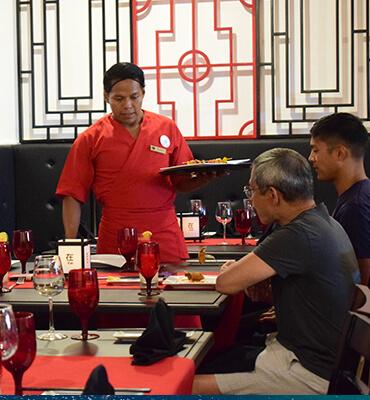 El Restaurante Oriental Zai en Los Cabos