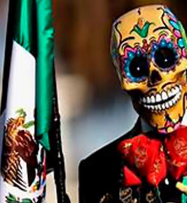 El dia de Muertos en cancun