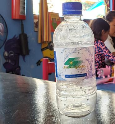 Botellas de Plástico Reciclables en los Hoteles Solaris