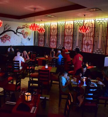 Cena Oriental en el Restaurante Zai de Los Cabos