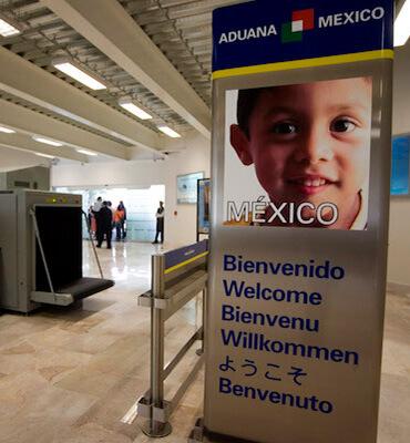 Aduanas de Seguridad en Aeropuertos Mexicanos