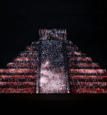 noches de Kukulkán en Chichen Itzá