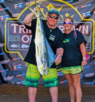 La Pesca durante el torneo Triple Crown