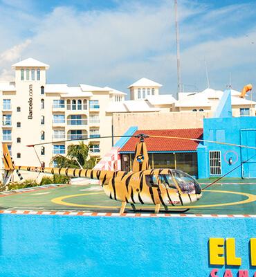 Viajes en Helicoptero en Cancún