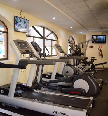 Gym at Royal Solaris Los Cabos Resort