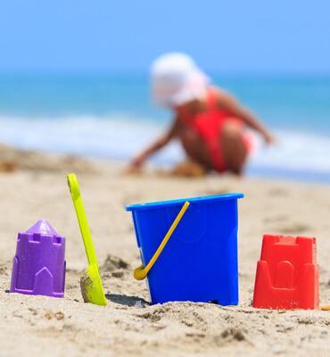 Actividades para niños pequeños en las vacaciones