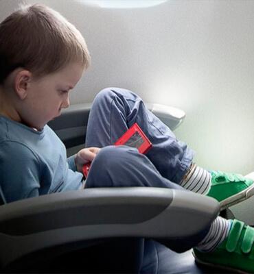 Viajando en Avion con tus hijos