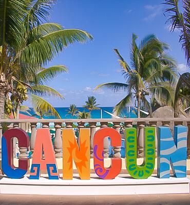 Anuncio de Cancún en el Hotel Solaris