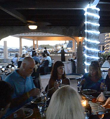 La Cena de Gala en Club Solaris Cabos