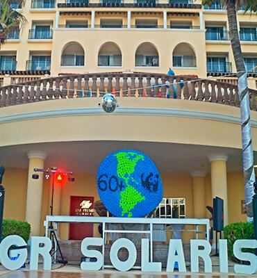 La hora del planeta en GR Solaris