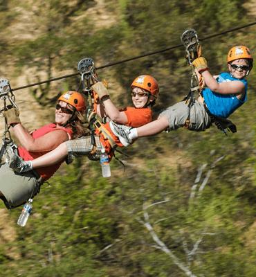 Tours y Actividades en Los Cabos, Tour de Tirolesa