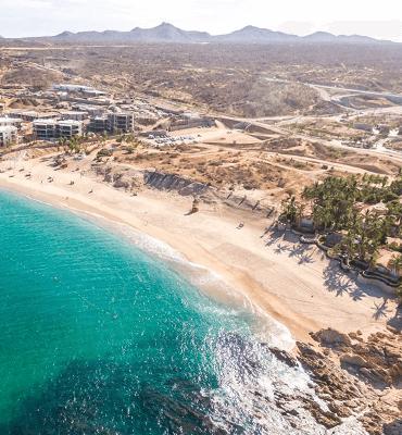 Playa Chileno en Los Cabos con Certificacion Blue Flag