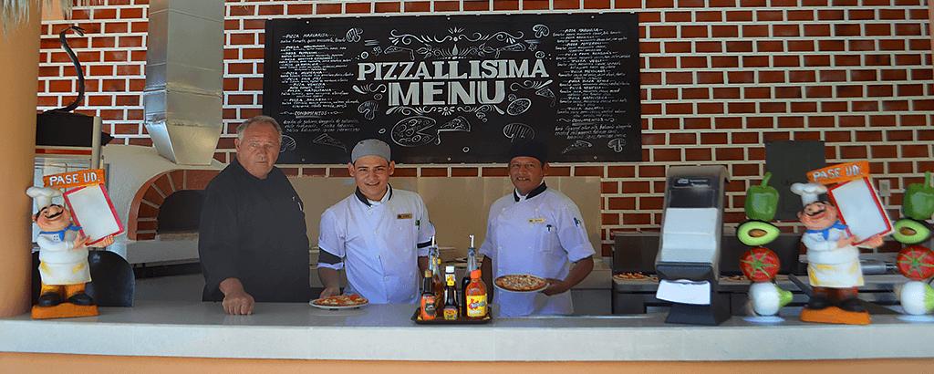 Restaurante Pizzallisima de Royal Solaris Los Cabos