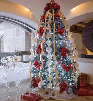 The Christmas Tree of GR Caribe