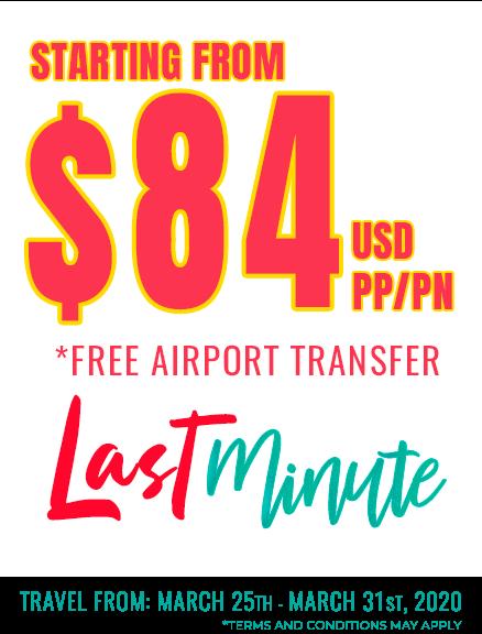 last minute cancun deals