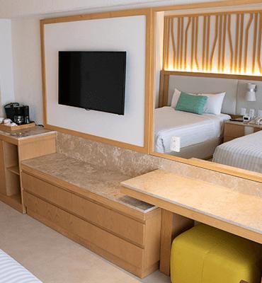 habitaciones remodeladas Solaris Cancún