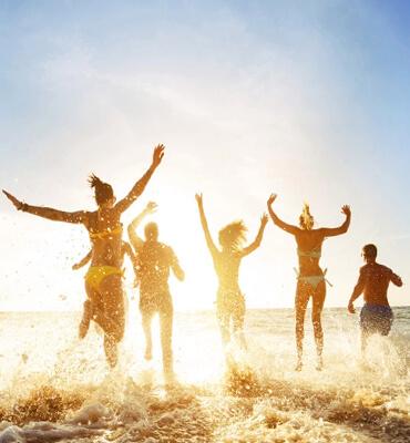 Saliendo de Vacaciones con los Amigos