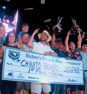 Winner of the Bisbee's Tournament of Los Cabos