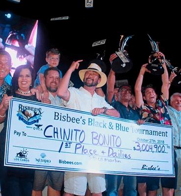 Ganadores de Bisbee's en Los Cabos