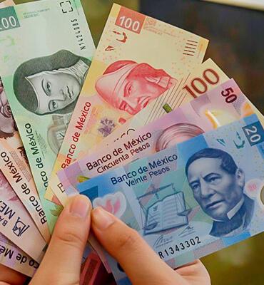 Usando dinero local en tus Vacaciones en México