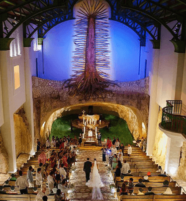 La Capilla de Guadalupe en Xcaret