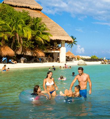 Diversión en el Parque de Xcaret en Cancún