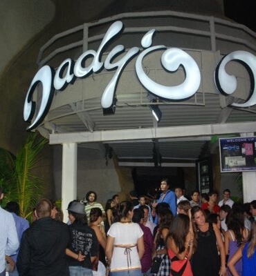 Club Daddy'o en Cancun