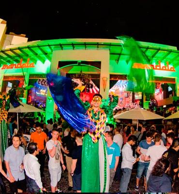 El Club Nocturno Mandala en Cancun