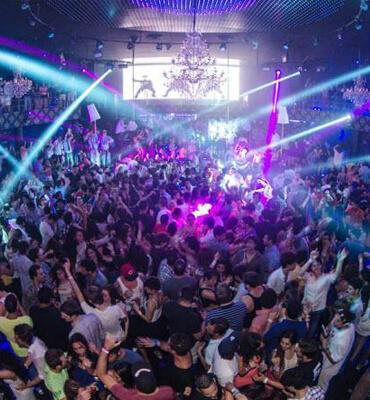 Club Nocturno Palazzo en Cancun