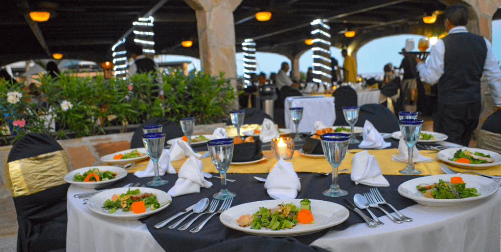 The Gala dinner at Club Solaris Cabos