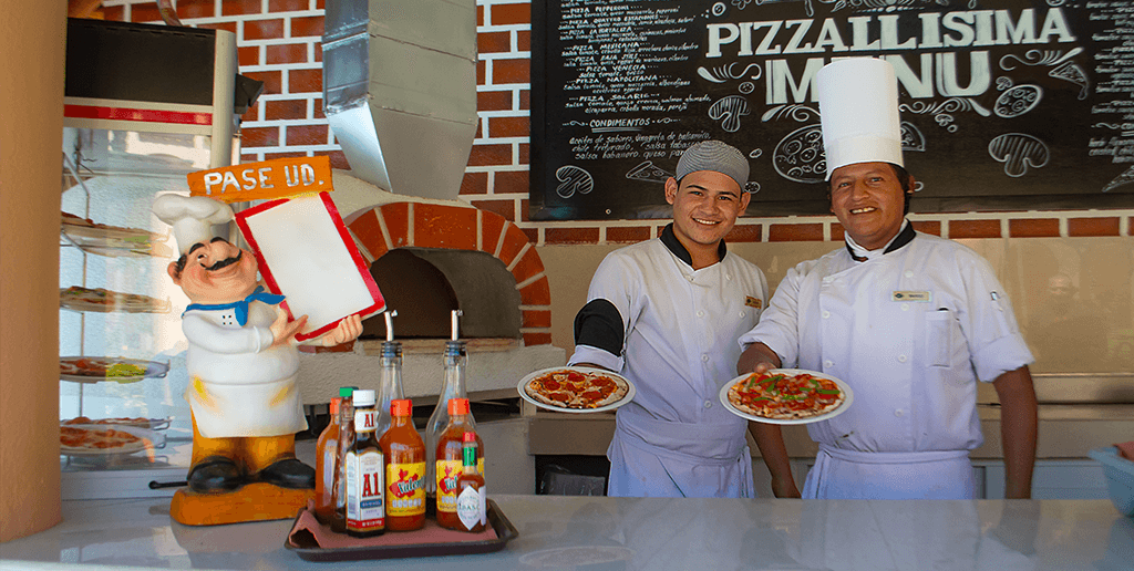Renewing your Pizzeria at Club Solaris Cabos